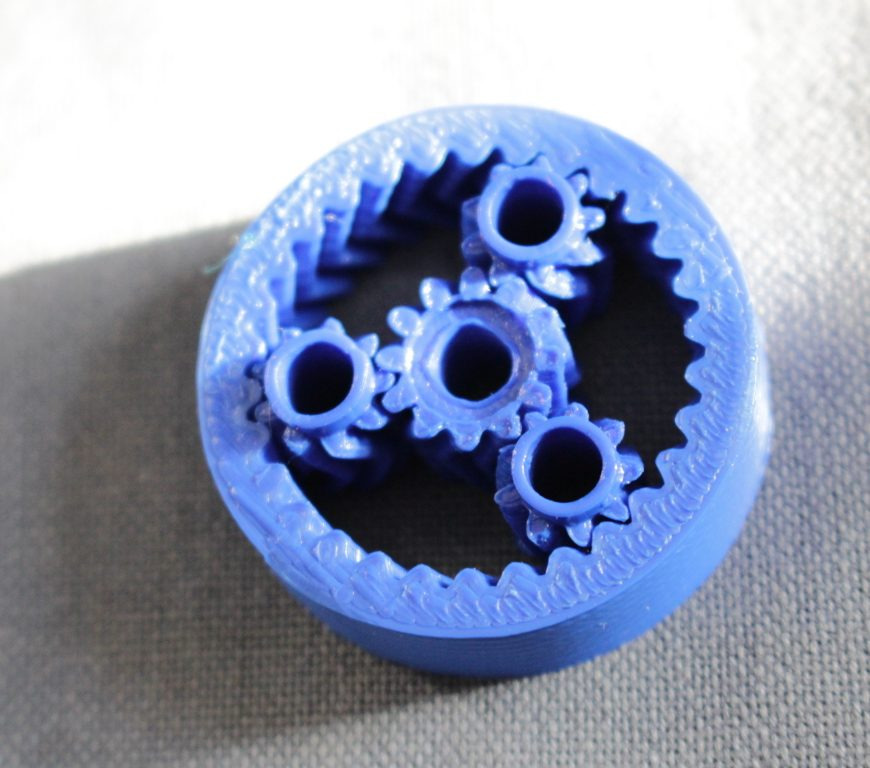 Planetary gear for nema 17 stepper motor