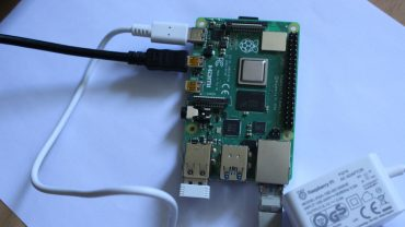 raspberry pi 4 first boot
